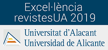 Sello revista excelencia Universidad de Alicante